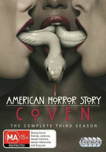 American Horror Story - Coven : COMPLETE Season 3 : NEW DVD