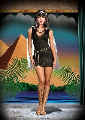 Dreamgirl Sexy Adult Egyptian Pharaoh's Favorite Halloween Costume M $51.99 - Favorite Costume