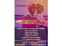 FREE Olympic Style Taekwondo Class Age 8 - Adult CARDIFF