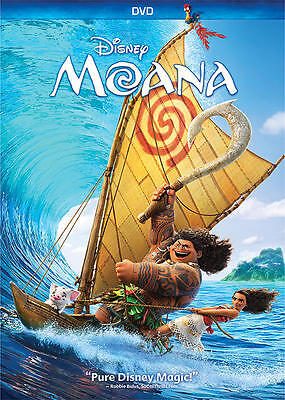 Moana  Dvd  2017  Disney   New Sealed Ships Within 1 Business Day W Tracking