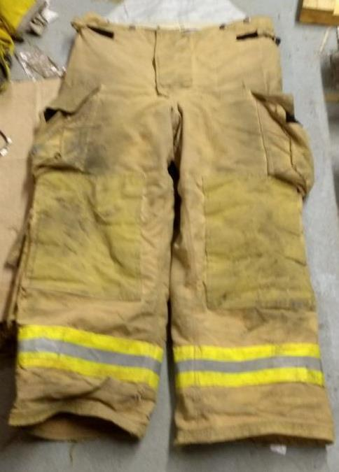 Fire Dex Firefighter Turnout Pants Bunker Gear Cairns  Morning Pride 40/30