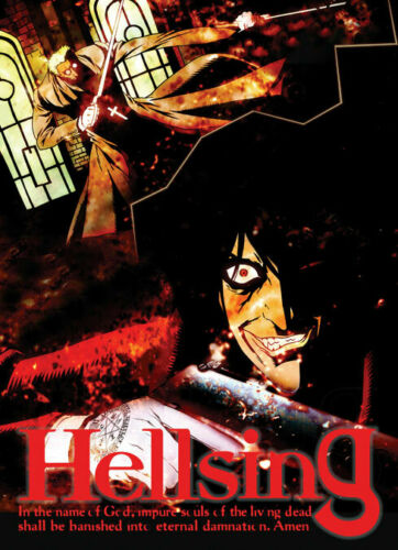 Hellsing Alucard & Alexander Wall Scroll Anime Licensed NEW