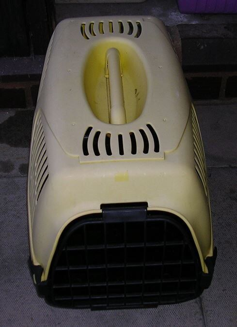 YELLOW PET CARRIER FOR SALE