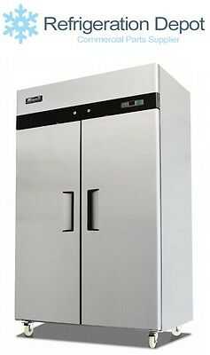 Migali C-2f - Reach-in Freezer - Double Door 49 Cuft