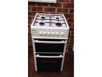 Beko double oven gas cooker £100