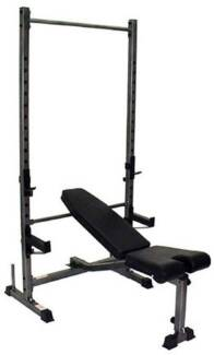 Bench Press With Weights And Bar For Sale In La Trobe Region Vic Gym Fitness Gumtree
