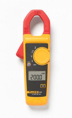 Fluke F303 1.6inch Lcd Ac Clamp Meter Multimeter 600a