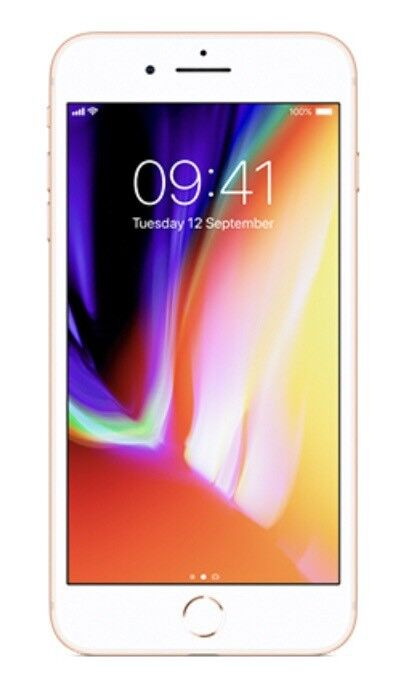 Iphone 8plus Gold EE , 64 GB brand new still sealed ,