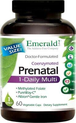 1-Daily Prenatal Multi by Emerald, 60 capsule