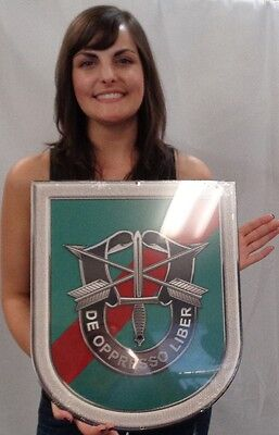 """Special Forces 20th SF Group all metal Sign 18 x 15"""""""