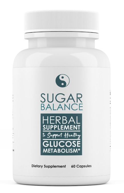 Sugar Balance Herbal Supplement To Support Healthy Glucose Metabolism 60 Caps