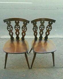 Chairs x2