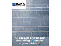 All aspects of wall and floor tiling (rayswallsandfloors)