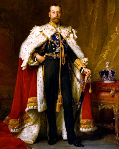 KING GEORGE V OF THE UNITED KINGDOM Glossy 8x10 Photo Print Painting Poster