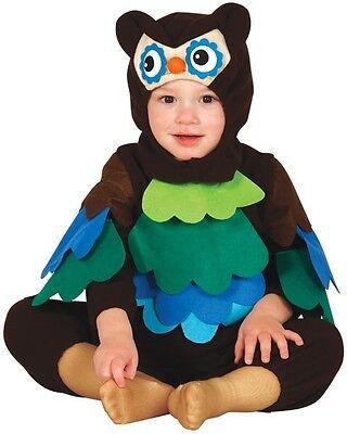Jungen Eule Kostüm (Baby Mädchen Jungen Eule Vogel Tier Buch Tag Halloween Kostüm Kleid Outfit)
