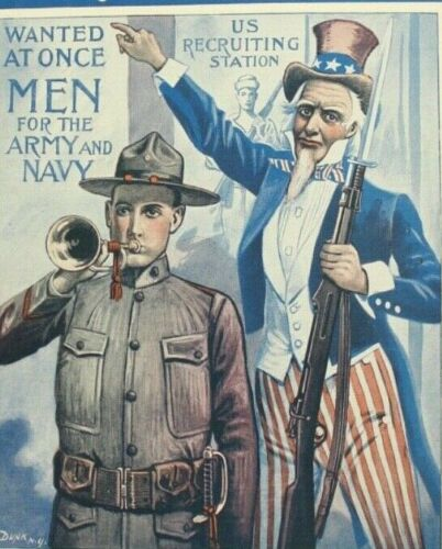 1917 Sons of America - America Needs You WWI Sheet Music