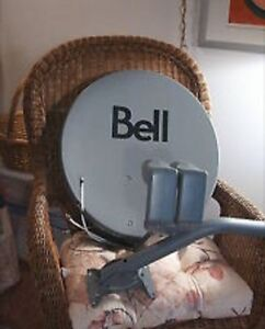 BELL HD SATELLITE DISH & LNBs **** new in box *****