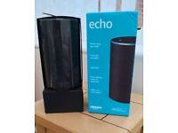 Amazon Echo Alexa 2nd Generation Charcoal Black