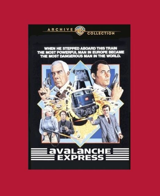 Avalanche Express - Lee Marvin , Robert Shaw - compatible in Region 2 - NEW DVD