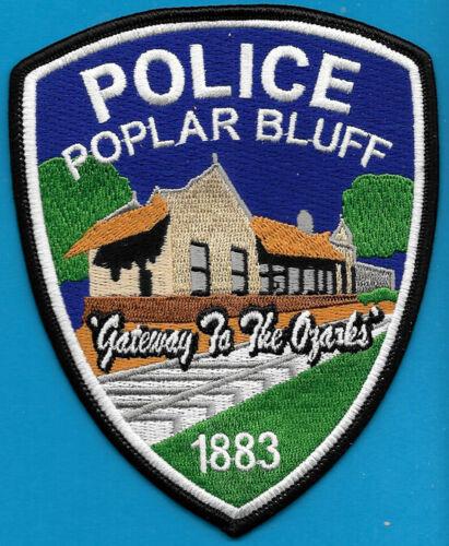 POPLAR BLUFF MISSOURI MO POLICE DEPT GATEWAY TO THE OZARKS RAILROAD TRACKS PPD