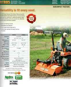 New Land Pride Tillers - 3 point Hitch