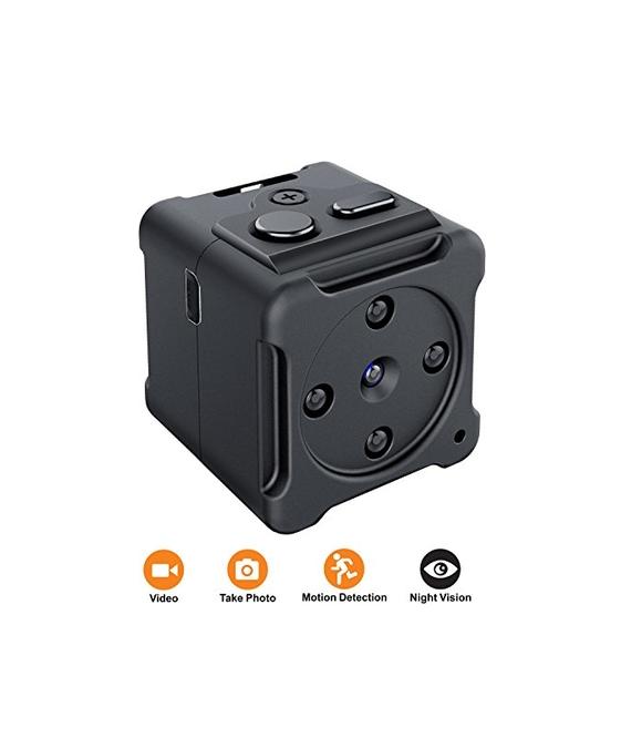 Mini Spy Hidden Camera,NIYPS 1080P Portable Small HD Nanny C