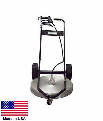 Pressure Washer Surface Cleaner - Commercial - 24 Cleaning Area - 3 To 10 Gpm