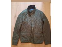 Ralph Lauren Mens Medium New Green quilted Jacket