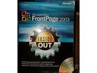 MICROSOFT FRONT PAGE 2003 BOOK