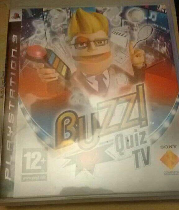 Buzz quiz tv game ps3