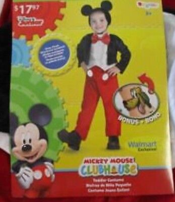 New Boys Disney Mikey Mouse Custome 2T - Mikey Mouse Costume