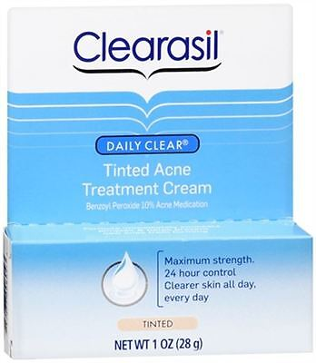 Clearasil Daily Clear Tinted Acne Treatment Cream 1 oz