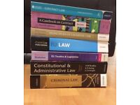 1st and 2nd Yr LAW Textbooks