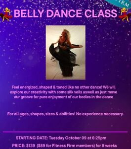 Belly Dance Classes starting soon! Open to everyone!!