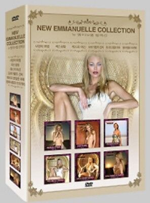 New Emmanuelle Collection 6-Disc BOX SET *Adult DVD *NEW (Adults Movies)