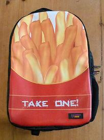 "Urban Junk ""TAKE ONE!"" Backpack - suit teenage girl"