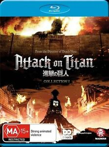 Attack-On-Titan-Collection-1-Blu-ray-2014-2-Disc-Set-NEW