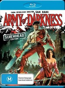 Army Of Darkness BLU RAY BRAND NEW SEALED