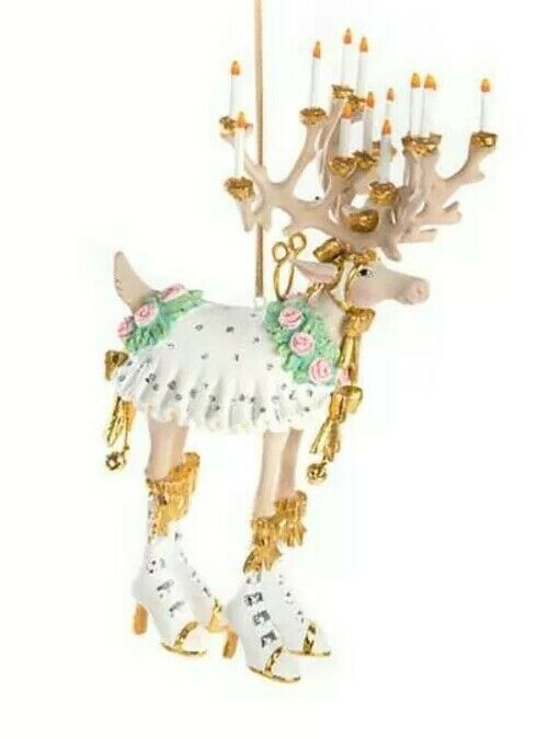 New Patience Brewster Moonbeam Donna Reindeer LARGE Ornament Dash Away