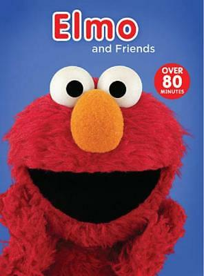 Sesame Street Elmo And Friends New Dvd