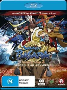Sengoku Basara - Samurai Kings : Season 2 (Blu-ray, 2012, 2-Disc Set)