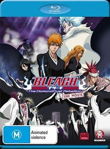 Bleach the Movie 2: The Diamonddust Rebellion NEW B Region Blu Ray