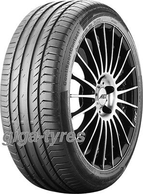 4x SUMMER TYRE Continental ContiSportContact 5 225/50 R17 94W MO BSW