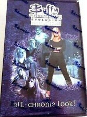 Buffy the Vampire Slayer Evolution 2002 Trading Cards SEALED Inkworks Chrome