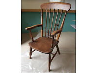 Antique farmhouse carver arm chair £75