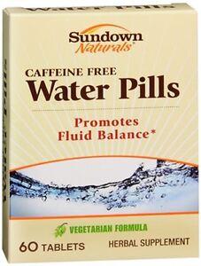 Sundown Naturals Natural Water Pills 60 Tablets