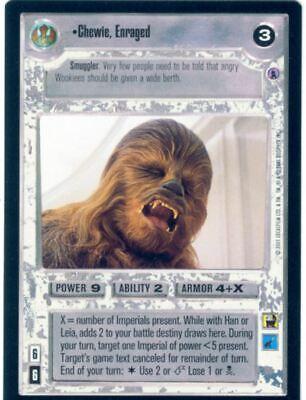 Star Wars CCG Reflections III 3 Premium Chewie Enraged