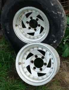 1964 Chevy GMC Aluminum Rims
