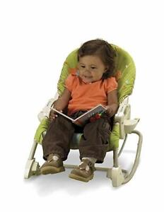 Fisher price swing n' rocker for baby and toddler, 3 functions!!