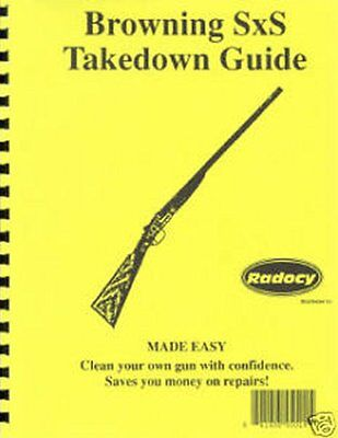 Beretta A303   Shotgun Takedown Disassembly Assembly Guide Radocy